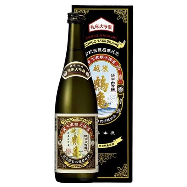 越後鶴亀 純米大吟醸 720ml【日本酒・清酒】