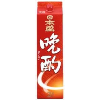 日本盛 晩酌パック 2000ml【日本酒・清酒】