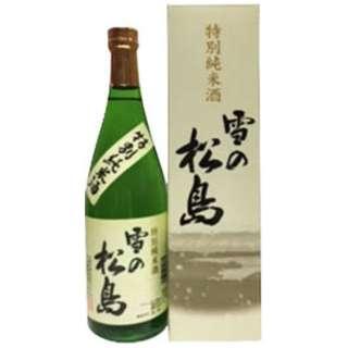 雪の松島 特別純米酒 720ml【日本酒・清酒】
