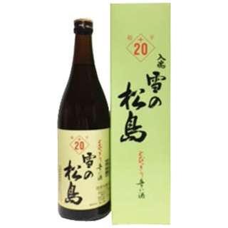 雪の松島 本醸造 入魂超辛+20 720ml【日本酒・清酒】