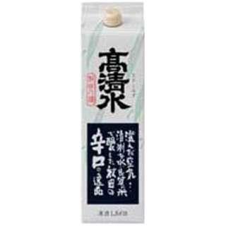 高清水 辛口パック 1800ml【日本酒・清酒】
