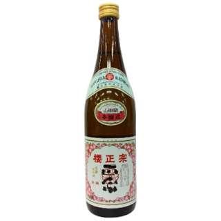 櫻正宗 朱稀 本醸造 720ml【日本酒・清酒】