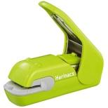 [ステープラー] 針なしステープラー ハリナックス プレスタイプ 緑 SLN-MPH105G