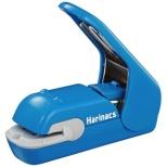 [ステープラー] 針なしステープラー ハリナックス プレスタイプ 青 SLN-MPH105B
