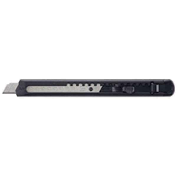 [カッターナイフ] カッターナイフ 標準型 フッ素加工刃 黒 HA-2-SD