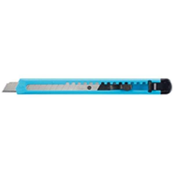 [カッターナイフ] カッターナイフ 標準型 青 HA-2B