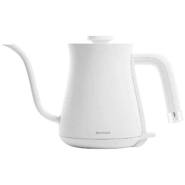 K02A 電気ケトル BALMUDA The Pot (バルミューダ ザ・ポット) ホワイト [0.6L]