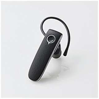 LBT-HPS04MPBK ヘッドセット ブラック [ワイヤレス(Bluetooth)+有線 /片耳 /イヤフックタイプ]