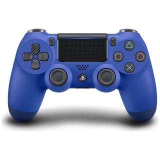 【純正】PS4専用ワイヤレスコントローラー [DUALSHOCK4] ウェイブ・ブルー(CUH-ZCT2J12)【PS4】