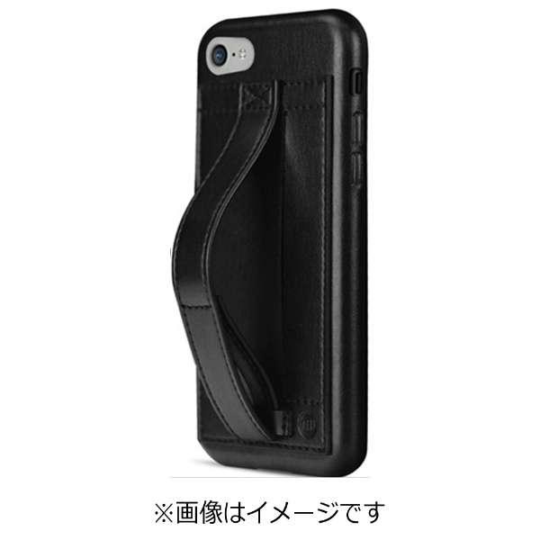 iPhone 7用 Finger Grip ハンドル付きケース ブラック TUN-PH-000502