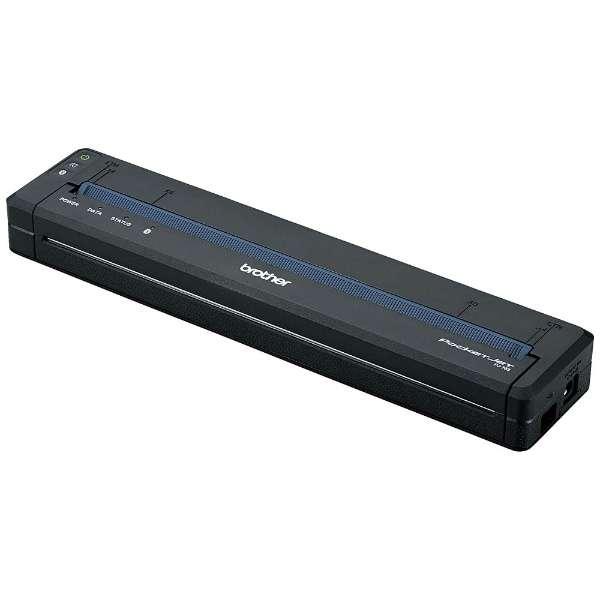 PJ-763 モバイルプリンター ブラック [はがき~A4]