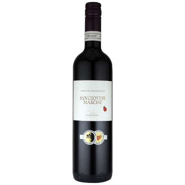 ヴォルピ サンジョヴェーゼ オーガニック 750ml【赤ワイン】