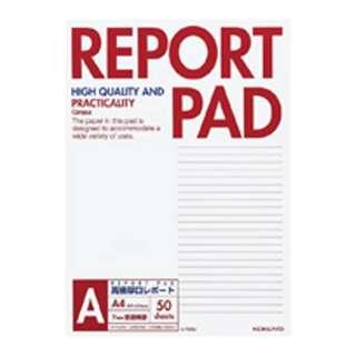 キャンパス レポートパッド 表紙巻き A4 A罫 50枚 レ-725A