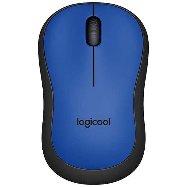 M221BL マウス ブルー  [光学式 /3ボタン /USB /無線(ワイヤレス)]