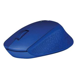 M331BL マウス ブルー  [光学式 /3ボタン /USB /無線(ワイヤレス)]