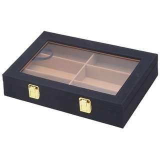 6本収納 コレクションケース(クロ)COB08