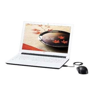 PC-NS100F1W ノートパソコン LAVIE Note Standard [15.6型 /intel Celeron /HDD:500GB /メモリ:4GB /2016年9月モデル]
