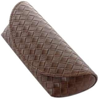 セミハード メガネケース(ブラウン)2140-03