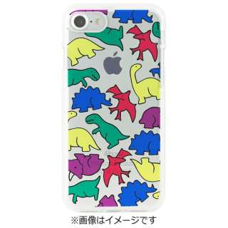 iPhone 7用 ソフトクリアケース Jurassic Park Dparks DS8286i7