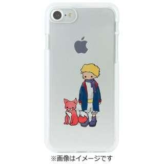 iPhone 7用 ソフトクリアケース 星の王子さま キツネ Dparks DS8273i7