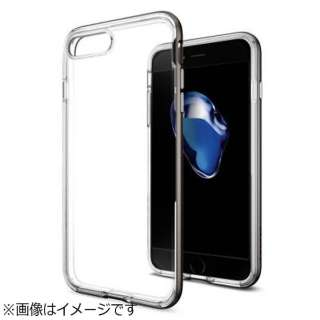 iPhone 7 Plus用 Neo Hybrid Crystal ガンメタル 043CS20539