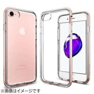 iPhone 7用 Neo Hybrid Crystal ローズゴールド 042CS20524