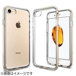 iPhone 7用 Neo Hybrid Crystal シャンパンゴールド 042CS20521