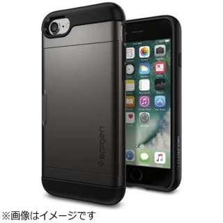 iPhone 7用 Slim Armor CS ガンメタル 042CS20453