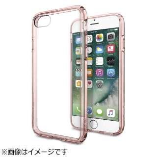 iPhone 7用 Ultra Hybrid ローズクリスタル 042CS20445