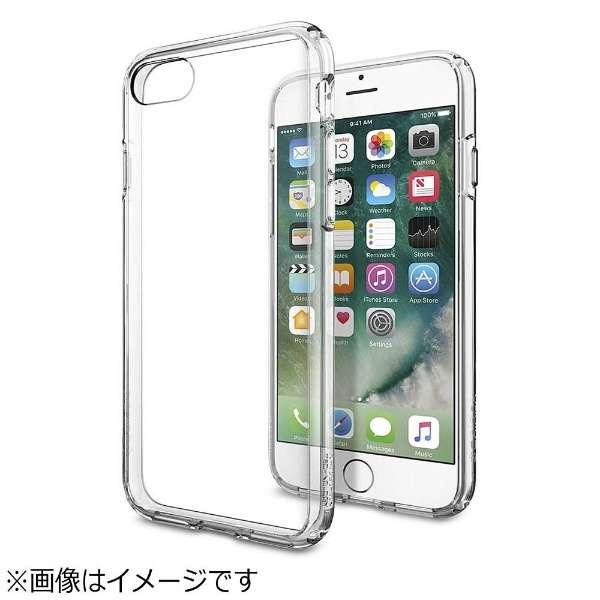 iPhone 7用 Ultra Hybrid クリスタルクリア 042CS20443