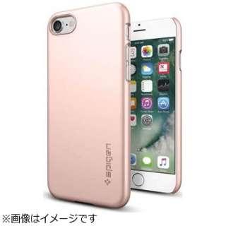 iPhone 7用 Thin Fit ローズゴールド 042CS20429