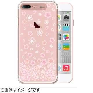 iPhone 7 Plus用 Clear Hard Art イルミネーションケース ブロッサム ローズゴールド SG SG8789i7P