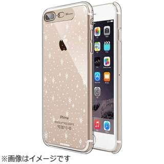 iPhone 7 Plus用 Clear Hard イルミネーションケース ギャラクシーゴールド SG SG8785i7P