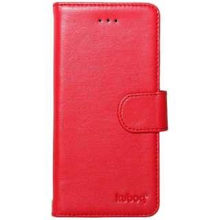 70da41b810 ビックカメラ.com   OWLTECH オウルテック iPhone 7用 kuboq 手帳型ケース 裏地迷彩 PU カードポケット付 スタンド機能  レッド OWL-CVIP715CA-RE 通販