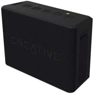 SP-MV2C-BK ブルートゥース スピーカー Creative MUVO 2c ブラック [Bluetooth対応 /防水]