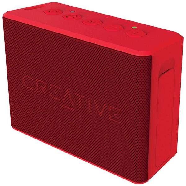 SP-MV2C-RD ブルートゥース スピーカー Creative MUVO 2c レッド [Bluetooth対応 /防水]