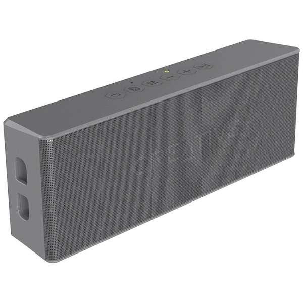 SP-MV2-GY ブルートゥース スピーカー Creative MUVO 2 グレー [Bluetooth対応 /防水]
