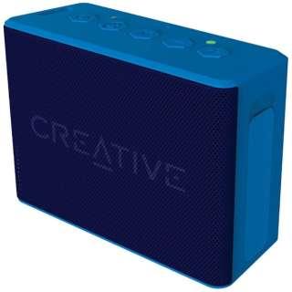 SP-MV2C-BU ブルートゥース スピーカー Creative MUVO 2c ブルー [Bluetooth対応 /防水]