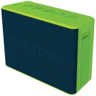 SP-MV2C-GR ブルートゥース スピーカー Creative MUVO 2c グリーン [Bluetooth対応 /防水]