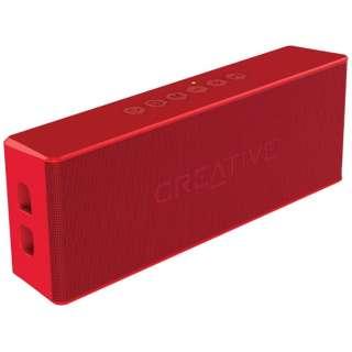 SP-MV2-RD ブルートゥース スピーカー Creative MUVO 2 レッド [Bluetooth対応 /防水]