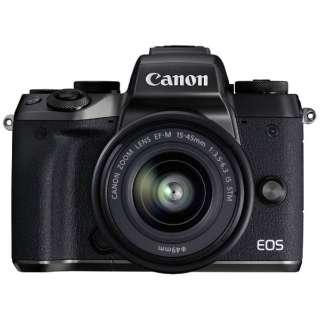 EOS M5 ミラーレス一眼カメラ EF-M15-45 IS STM レンズキット [ズームレンズ]