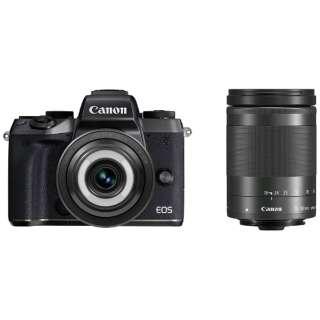 EOS M5 ミラーレス一眼カメラ クリエイティブマクロ ダブルレンズキット [ズームレンズ+単焦点レンズ]