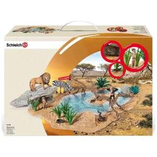シュライヒ 42258 動物達の水飲み場セット