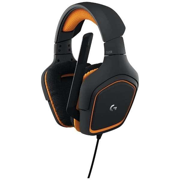 G231 ゲーミングヘッドセット [φ3.5mmミニプラグ /両耳 /ヘッドバンドタイプ]