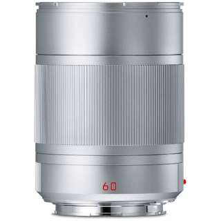 カメラレンズ TL F2.8/60mm ASPH. APO-Macro-Elmarit(アポ・マクロ・エルマリート) シルバー [ライカT /単焦点レンズ]