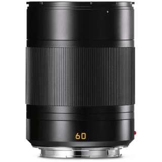 カメラレンズ TL F2.8/60mm ASPH. APO-Macro-Elmarit(アポ・マクロ・エルマリート) ブラック [ライカT /単焦点レンズ]