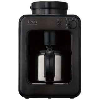 SC-A131 コーヒーメーカー crossline タングステンブラックブラック [全自動 /ミル付き]