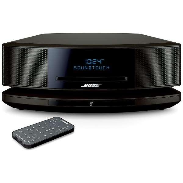 WST IV EB ブルートゥース スピーカー Wave SoundTouch music system IV エスプレッソブラック [Bluetooth対応 /Wi-Fi対応]