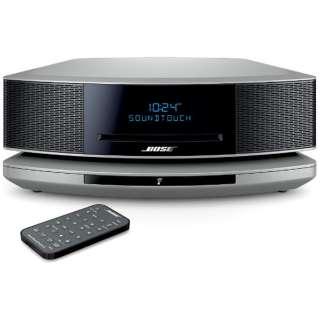 WST IV PS ブルートゥース スピーカー Wave SoundTouch music system IV プラチナムシルバー [Bluetooth対応 /Wi-Fi対応]