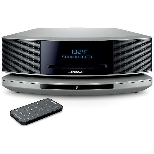 Wi-Fi スピーカー Wave SoundTouch music system IV プラチナムシルバー [Bluetooth対応 /Wi-Fi対応]
